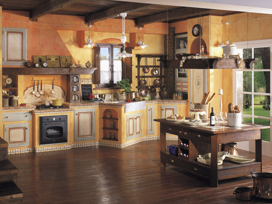 Decorazione casa blog archive cucine rustiche in muratura for Interni di case rustiche